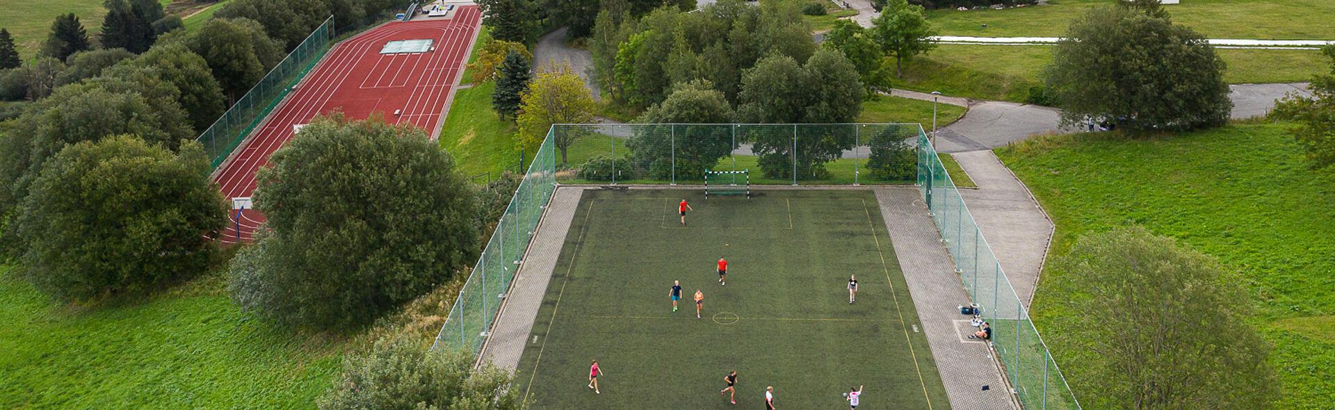 Bundesstützpunkt Oberwiesenthal Leichtathletikbahn Trainingszentrum