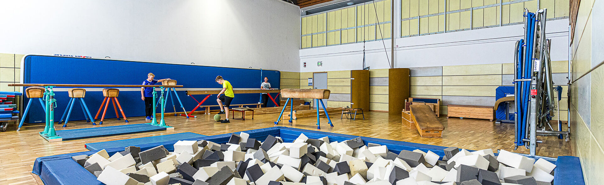 Bundesstützpunkt Oberwiesenthal Trainingszentrum Athletikhalle