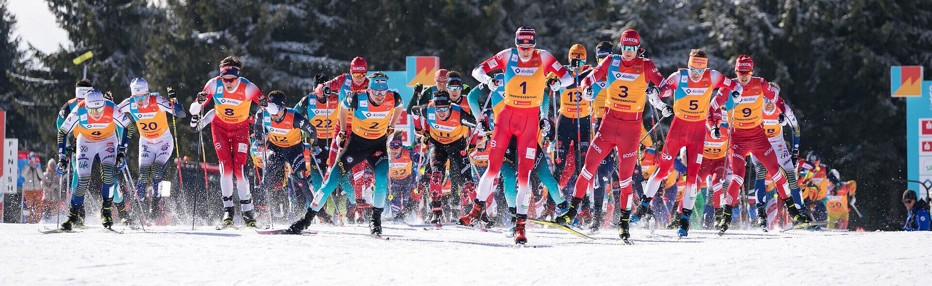Oberwiesenthal Skilanglauf Trainingszentrum Juniorenweltmeisterschaft